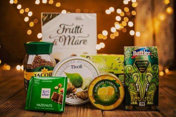Pistacjowy zestaw słodkości na każdą okazję