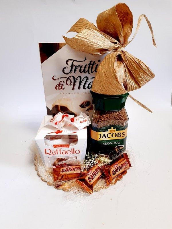 Zestaw prezentowy z kawą Jacobs