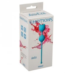 Vaginal balls Emotions Foxy turquoise