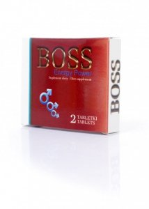 Boss Energy Power Ginseng 2 szt.