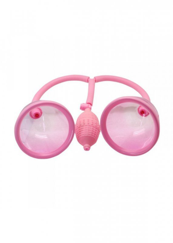 """Pompka-4.5"""""""""""""""" DUAL BREAST SUCTION CUPS."""
