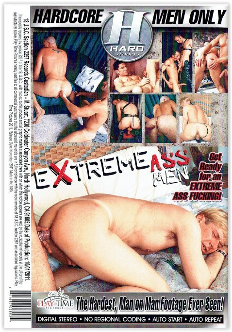 DVD-Extreme Ass Men