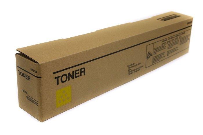 Toner Clear Box Yellow Konica Minolta Bizhub C224, C227, C287 zamiennik TN321Y (A33K250), TN221Y  (A8K3250)
