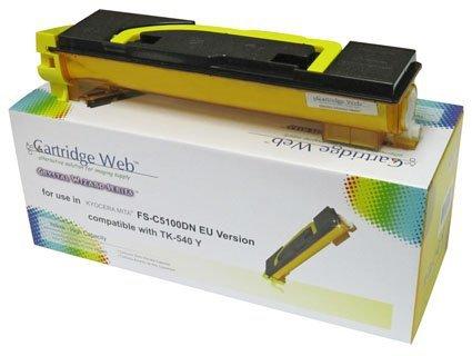 Toner Cartridge Web Yellow Kyocera TK540/TK542 zamiennik TK-540Y