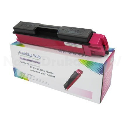 Toner Cartridge Web Magenta Kyocera TK580 zamiennik TK-580M