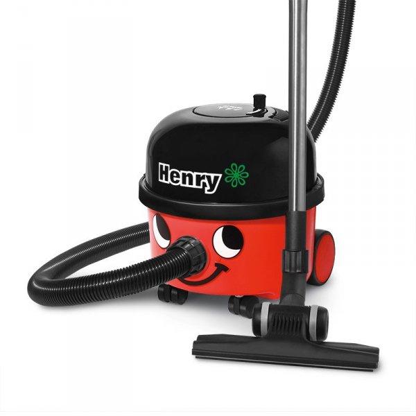 Odkurzacz workowy Numatic HVR200 Henry 900004 (620W; kolor czerwony)