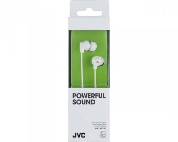 Słuchawki JVC HAF-X10WEF (dokanałowe; NIE; kolor biały