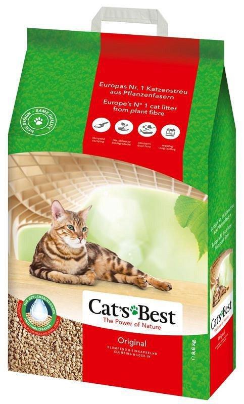 Źwirek Cat's Best JRS Cats Best Eco Plus (8,6kg)