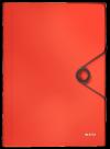 Teczka z przegródkami PP LEITZ SOLID jasnoczerwona 45791020
