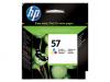 Tusz HP 57 (C6657AE) kolor 500str/17ml 450/5100/5150/5550/5600/5850