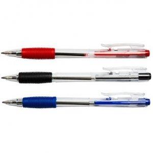 Długopis automat.D.RECT 311 niebieski 009579 LEVIATAN