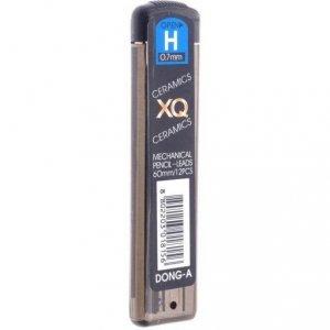 Grafity do ołówka automatycznego XQ 0.7mm H DONG-A