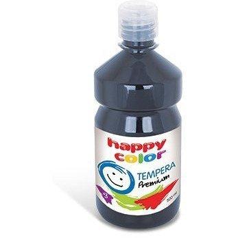 Farba TEMPERA Premium 500ml grafitowa HAPPY COLOR HA 3310 500-88