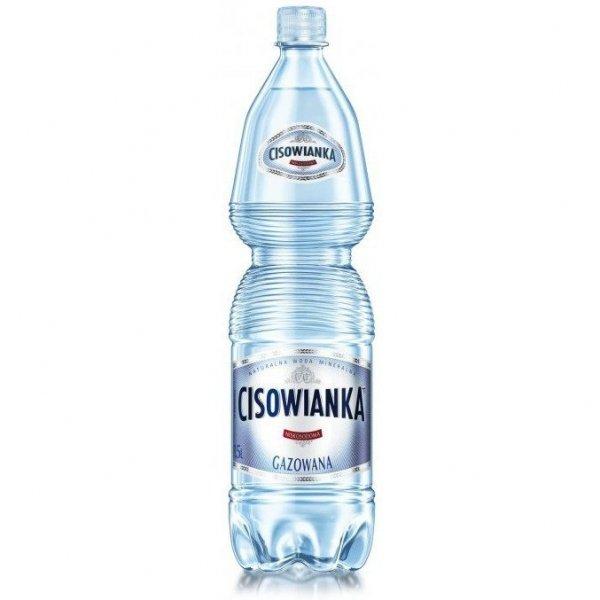 Woda CISOWIANKA 1.5L (6szt) gazowana