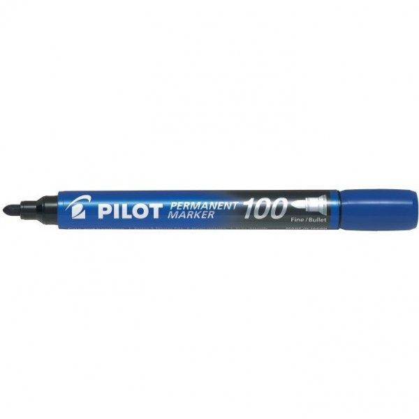 Markery permanentne SCA-100 (15+5sztuk gratis) niebieski XXL PILOT