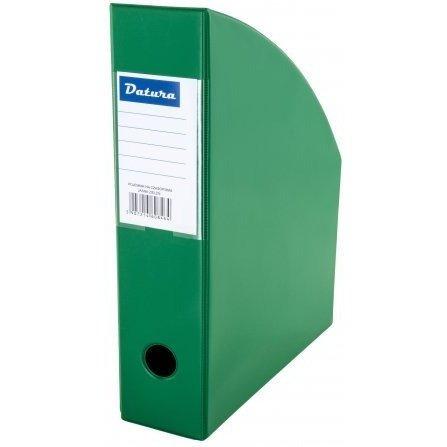 Pojemnik na czasopisma NATUNA A4 7cm jasny zielony PCV (SD-35-06)