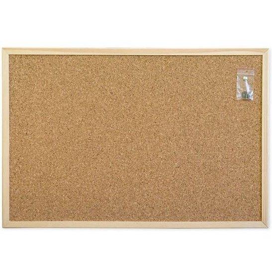 Tablica korkowa 80x100 r.drewniana WIELKOR