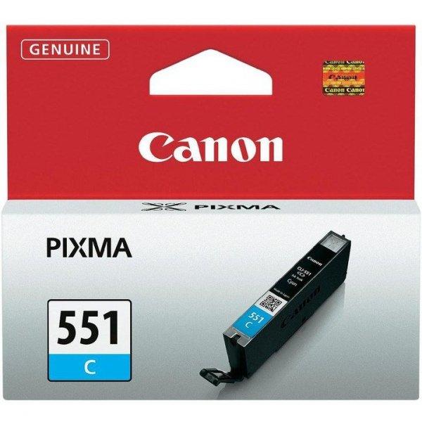 Tusz CANON (CLI-551C/6509B001) niebieski 332str