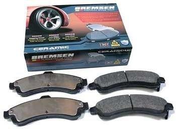 Klocki hamulcowe przednie BCD882 Chevrolet Trail Blazer 2002-2005