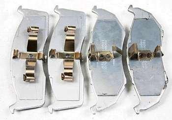 Klocki przednie 591SMD wzmocnion LHS 1994-2001591BCD ceramiczne