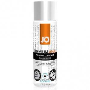 Lubrykant analny - System JO Anal Silicone Lubricant Cool 60 ml Chłodzący