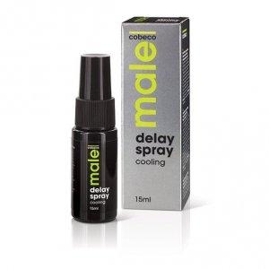 Spray opóźnający chłodzący - Male Delay Spray Cooling 15 ml