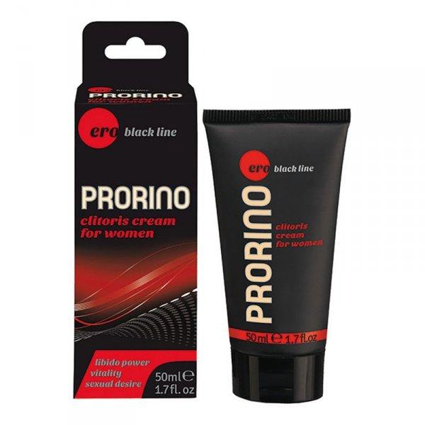 Żel/sprej-PRORINO Women- 50ml black line clitoris cream