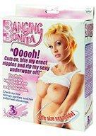 Lalka-Banging Bonita Life Size Love Doll with 3 Penetrating Holes
