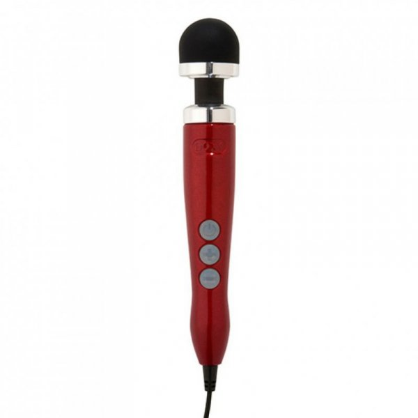 Masażer - Doxy Number 3 Wand Massager Candy Red