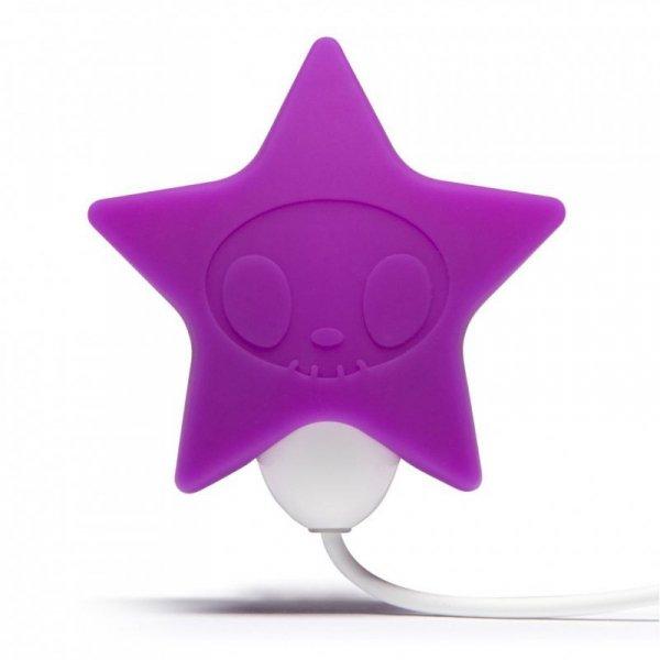 Masażer łechtaczki - Tokidoki Silicone Pink Star Clitoral Vibrator