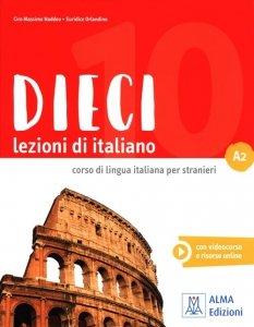 Dieci A2 Lezioni di italiano + DVD