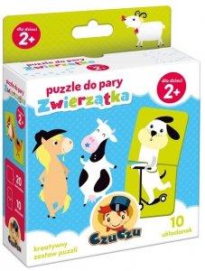 CZuczu Puzzle do pary Zwierzątka