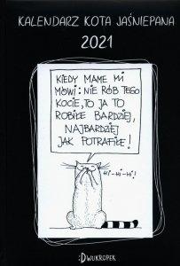Kalendarz 2021 Kota Jaśniepana książkowy