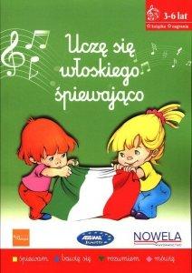 Uczę się włoskiego śpiewająco Książka nagrania