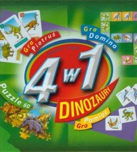 4 w 1 Dinozaury