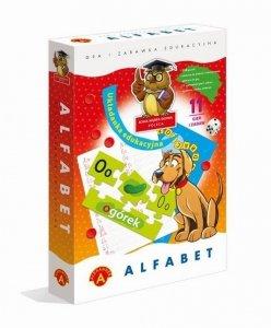 Alfabet - układanka edukacyjna