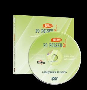 DVD Video do HURRA PO POLSKU 3. Podręcznik studenta. Nowa Edycja
