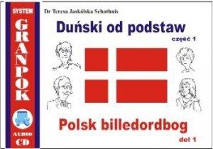 Duński od podstaw 1. Ilustrowany słownik duńsko-polski z płytą CD