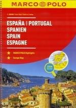 Atlas Hiszpania, Portugalia 1:300 000 Marco Polo