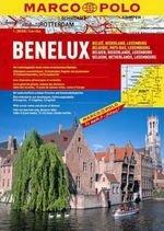 Atlas Kraje Beneluxu 1:200 000 Marco Polo
