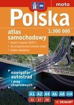 Atlas samochodowy Polski 1:300 000