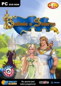 Ballada o Solarze. Smart games. PC DVD-ROM + 4 gry w wersji demo