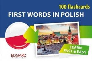 Polski 100 fiszek. Pierwsze słowa dla obcokrajowców. 100 flashcards. First Words in Polish