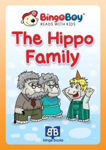 THE HIPPO FAMILY. Lektura do nauki samodzielnego czytania po angielsku dla dzieci