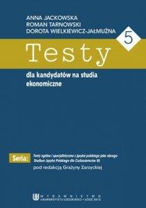 Testy dla kandydatów na studia ekonomiczne