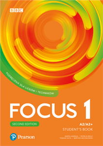 Focus Second Edition 1 Student's Book + kod (Digital Resources + Interactive eBook + MyEnglishLab)