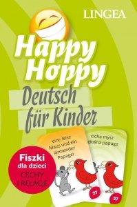 Happy Hoppy Deutsch fur Kinder. Fiszki dla dzieci język niemiecki. Cechy i relacje
