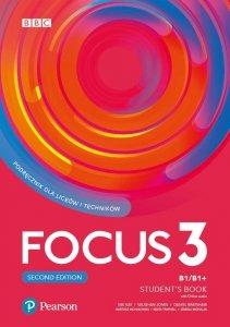 Focus Second Edition 3 Student's Book + kod (Digital Resources + Interactive eBook + MyEnglishLab)