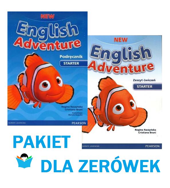 New English Adventure Starter. Zestaw podręcznik z DVD + ćwiczenia z CD