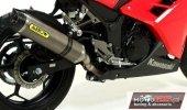 Sportowy wydech ARROW Kawasaki Ninja 300R Slip-ON